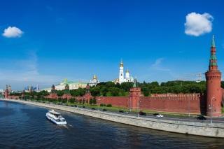Bientôt une course de Formule E au pied de la muraille entourant le Kremlin à Moscou