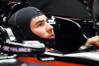 © Sahara Force India - Sergio Perez n'a pas retrouvé le même équilibre de sa voiture