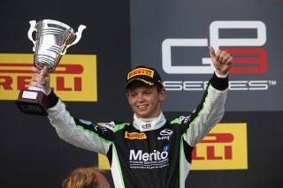 © GP3 Media Service - Yelloly sur un podium en GP3