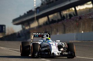 Felipe Massa ce matin à Barcelone