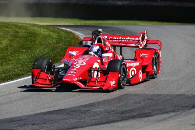 © IndyCar/B.Kelley - Scott Dixon bat le record de la piste de Mid-Ohio