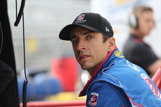 © IndyCar/c.Jones - Justin Wilson lutte pour sa vie après son grave accident