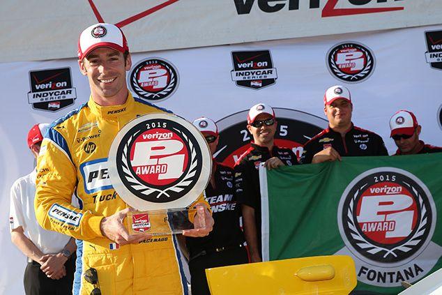 © IndyCar/C. Jones - Deuxième pole position dans la carrière de Pagenaud