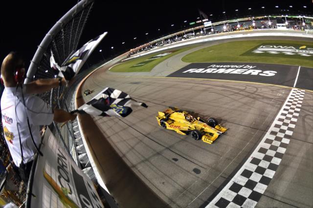 © IndyCar/C.Owens - Hunter-Reay retrouve le chemin de la victoire