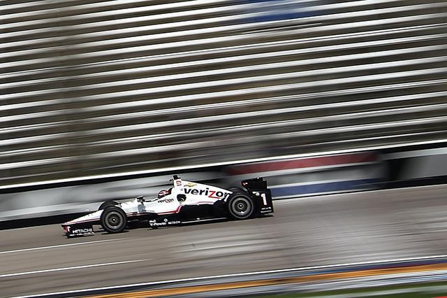 © IndyCar / Chris Owens - Will Power en pole à 350 km/h de moyenne