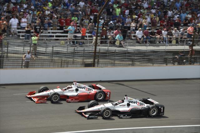 500 miles d'Indianapolis - course : Montoya, 15 ans après