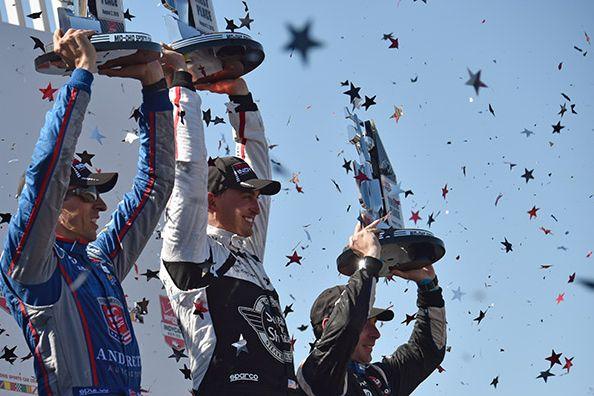 © IndyCar/J.Cote - Graham Rahal se place au championnat à deux courses de la fin