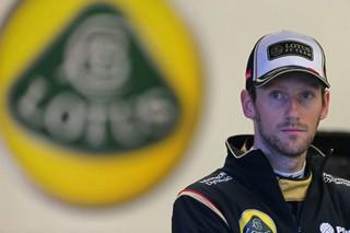 © Lotus - Romain Grosjean espère que la roue va tourner pour lui