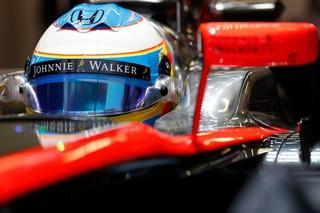 © McLaren - Une sortie de piste banale pour Alonso à Barcelone