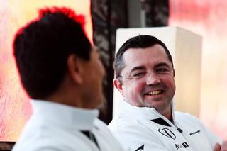 © McLaren - Il n'y a pas que des sourires dans la relation entre McLaren et Honda