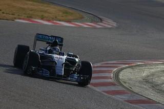 Entrainements prometteurs pour Hamilton cette après-midi sur le circuit de Catalunya