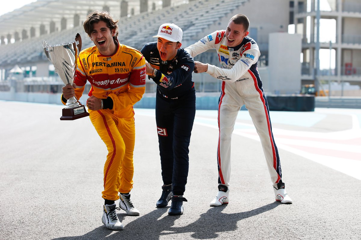 © GP2 Series - Les trois candidats au titre avant la finale à Abu Dhabi