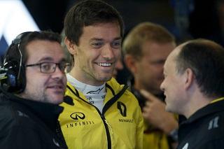 Palmer aux côtés d'Hulkenberg chez Renault en 2017