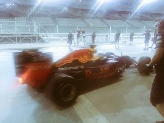 © Pirelli - Red Bull et Gasly testent pour la dernière fois les pneus pluies Pirelli