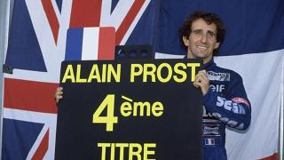 © TF1 - Alain Prost en 1993 pour son 4ème titre