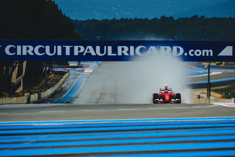 © Ferrari - Après 28 ans d'absence le Paul Ricard revient au calendrier de la F1