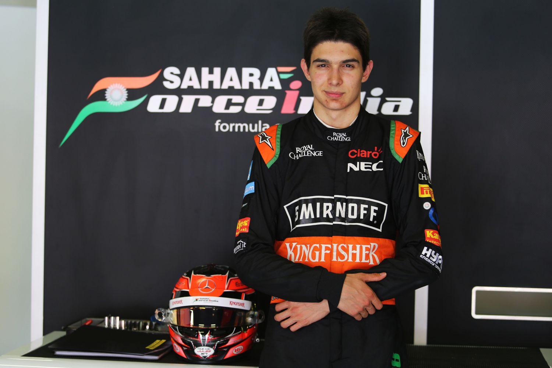 © Sahara Force India - Esteban Ocon, un Français chez Force India