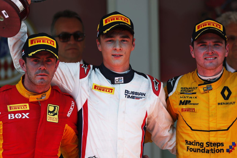 © GP2 Series - Victoire d'Artem Markelov (Russian TIme), à la surprise générale !