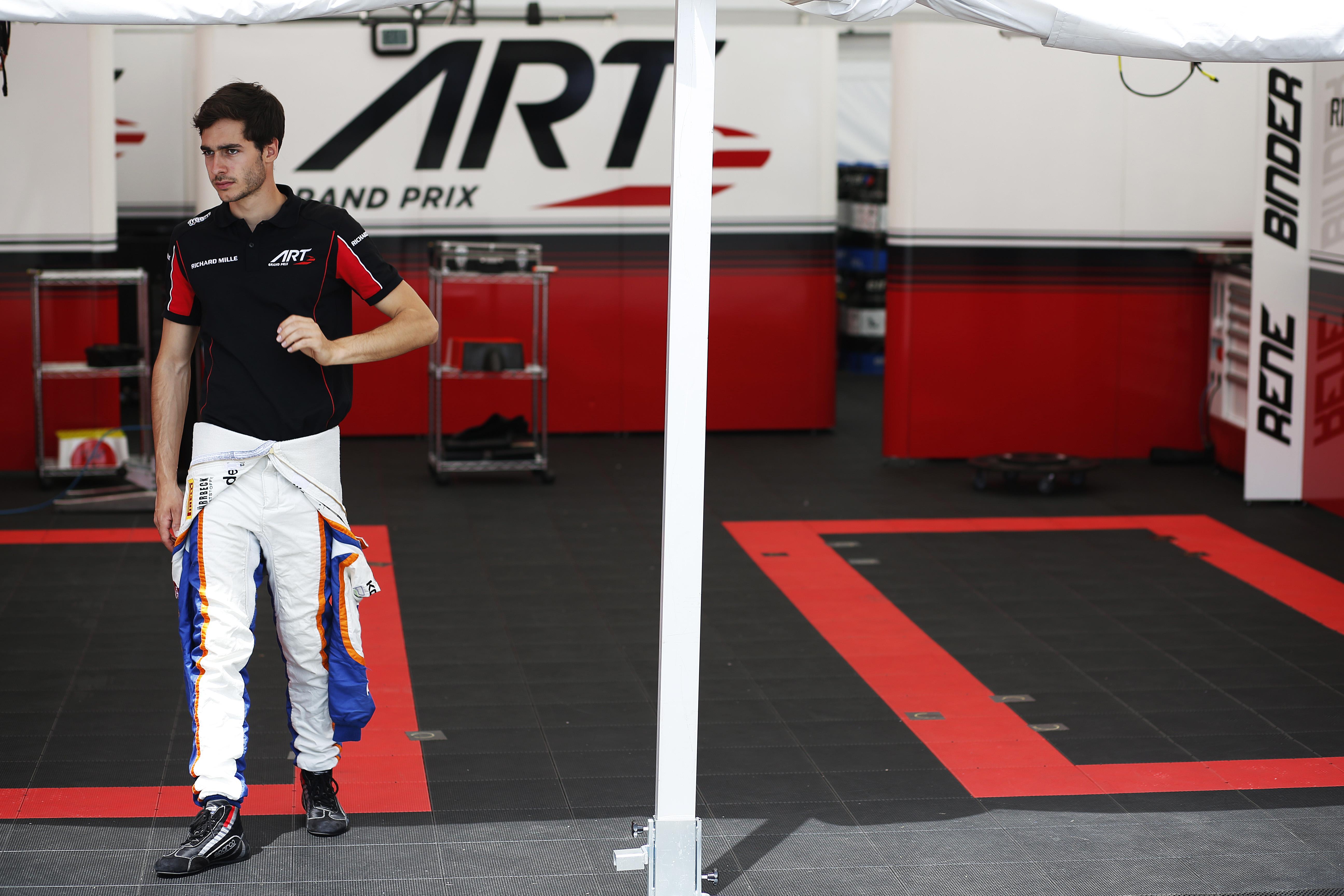 © GP2 Media Service - Premiers pas de René Binder chez ART Grand Prix