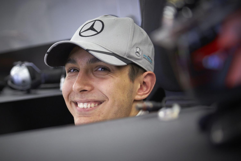 © Mercedes - Esteban Ocon va de nouveau porter les couleurs de Mercedes