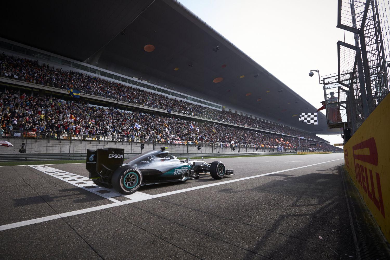 © Mercedes - La course en Chine aura bien lieu dimanche !