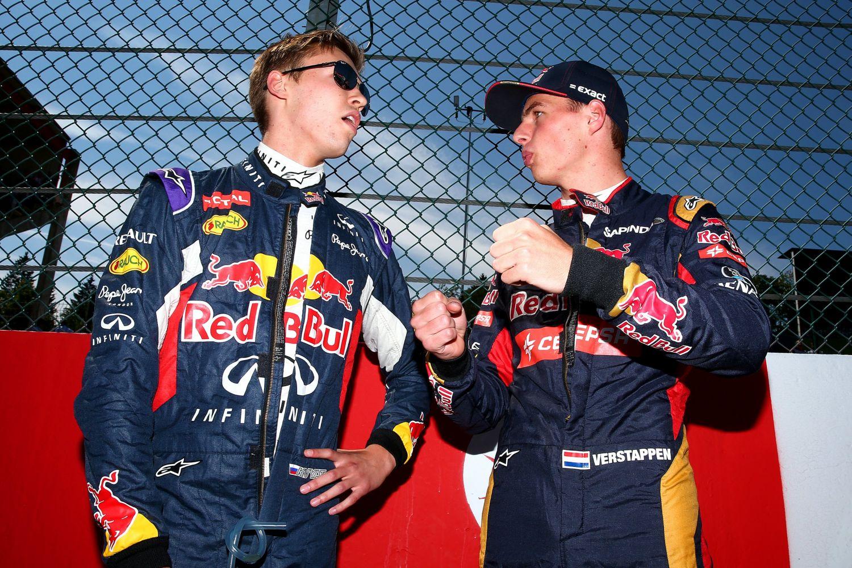 © Getty Images/Red Bull Content Pool - Daniil Kvyat et Max Verstappen vont échanger leurs baquets
