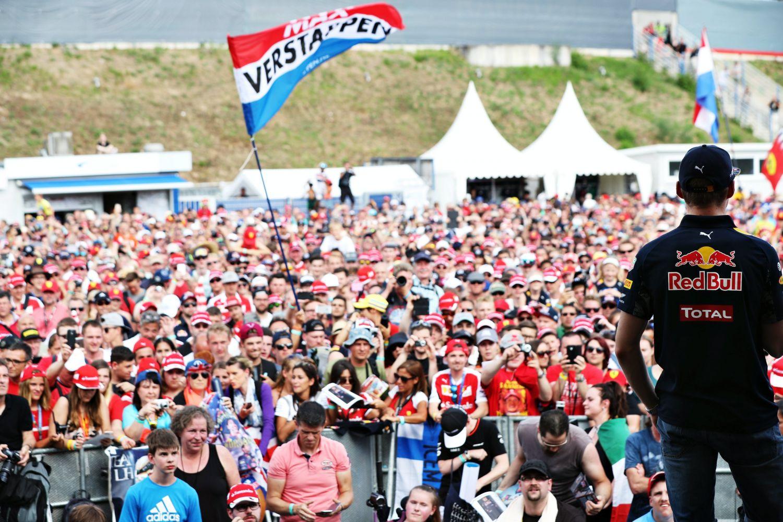 © Red Bull - Les fans de Verstappen bientôt à domicile ?