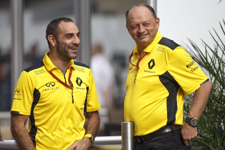 © Renault Sport F1 - Frédéric Vasseur ne poursuit pas l'aventure avec le constructeur français