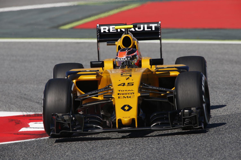 © Renault - Ocon va retrouver la Renault en Hongrie