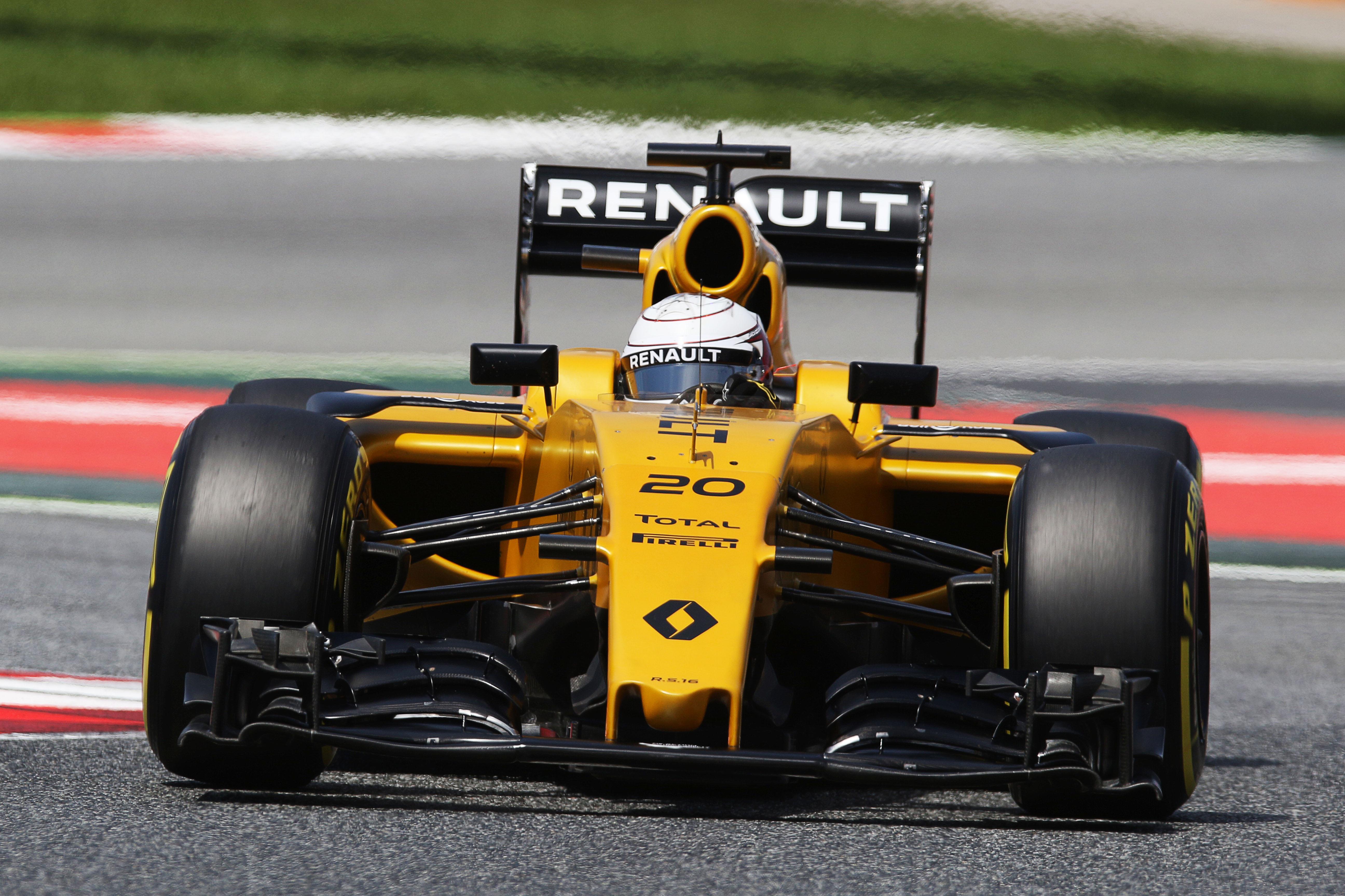 Course bien difficile à Montmelo pour Magnussen et l'équipe Renault dans son ensemble.