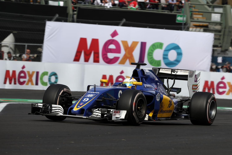 Le Mexique a failli sourire à Marcus Ericsson et Sauber