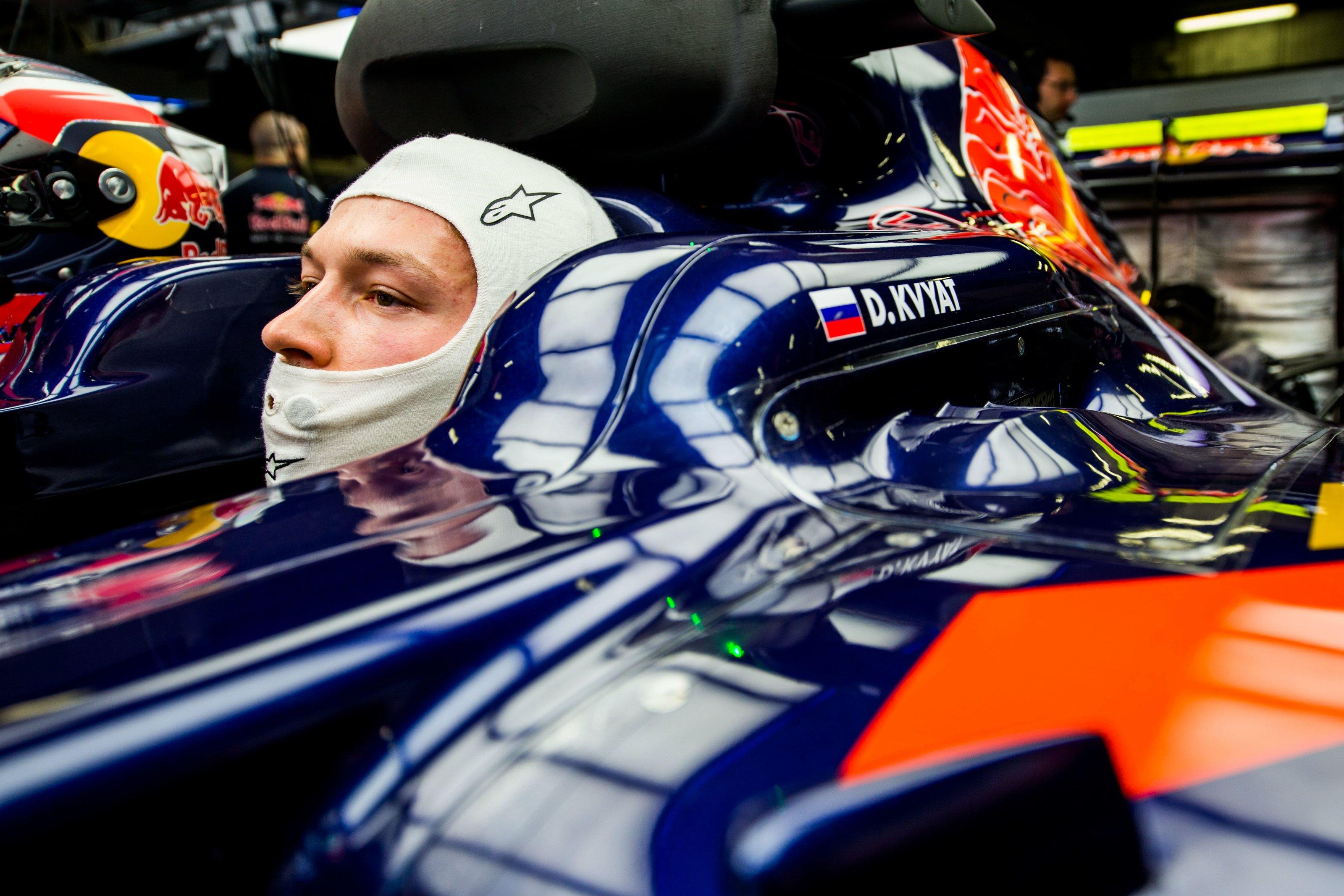 Daniil Kvyat dolit tout réapprendre chez Toro Rosso