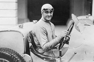 © DR - Louis Chiron, premier monégasque en Formule 1
