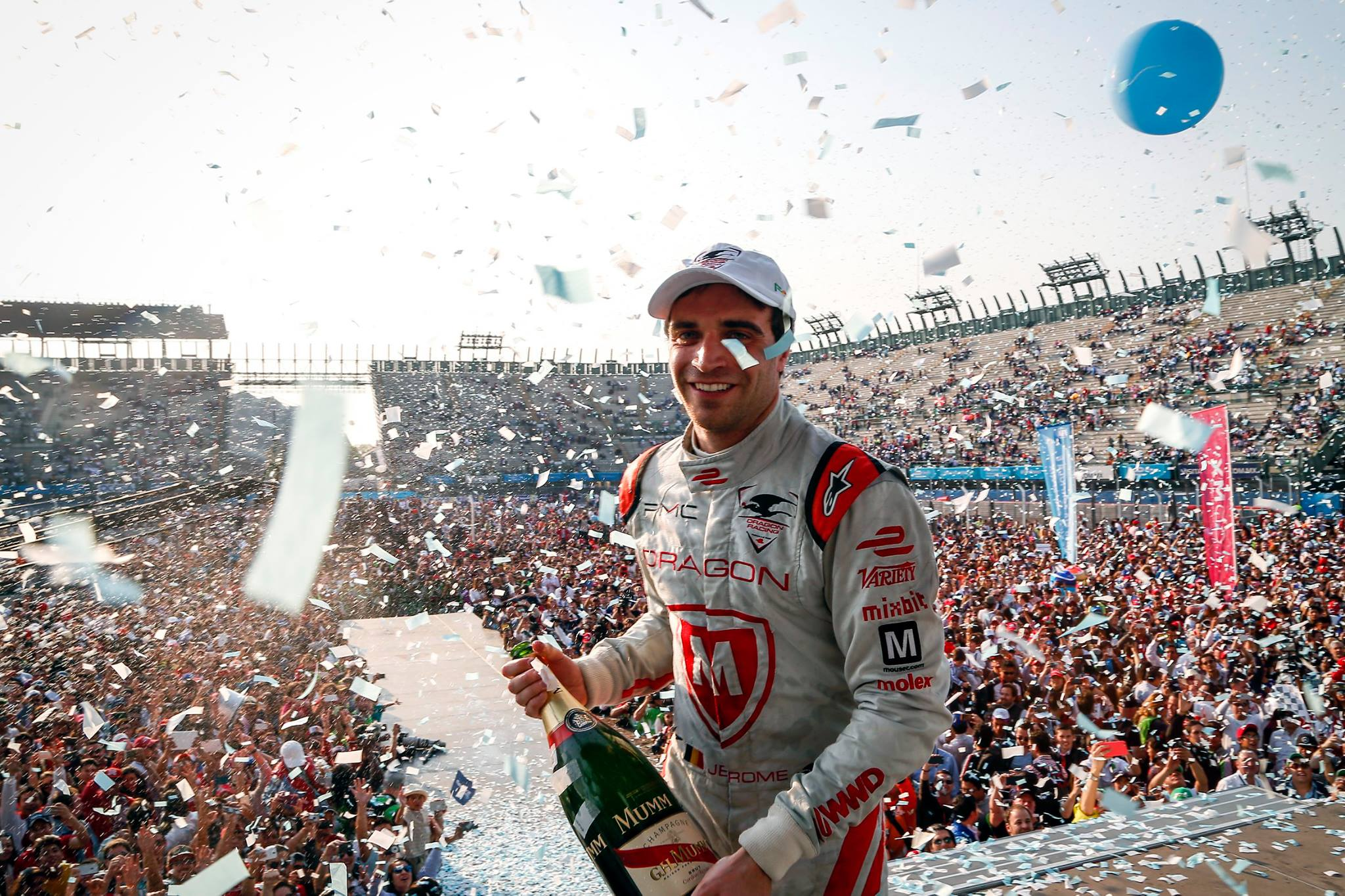 Jérôme d'Ambrosio parviendra t-il à décrocher sa première véritable victoire sur la piste cette saison ?