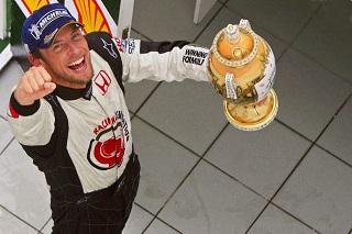 © F1 - Button remportait sa première victoire en Hongrie il y a 10 ans