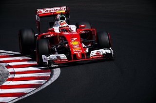 © Ferrari - Raikkonen a eu une course mouvementée