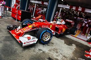 © Ferrari - Les pneus pluie donnent bien du soucis à Pirelli