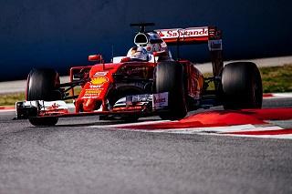 © Ferrari - Vettel signe le meilleur temps de cette première séance
