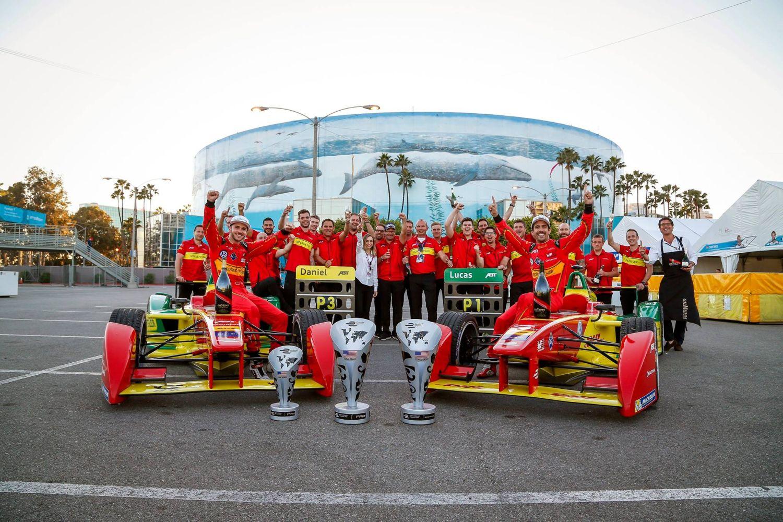 L'équipe ABT et Lucas di Grassi sont les grands bénéficiaires de ce week-end californien