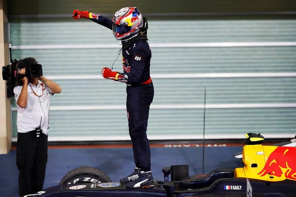 © GP2 Series - Cocorico pour Pierre Gasly, champion de cette saison 2016 !