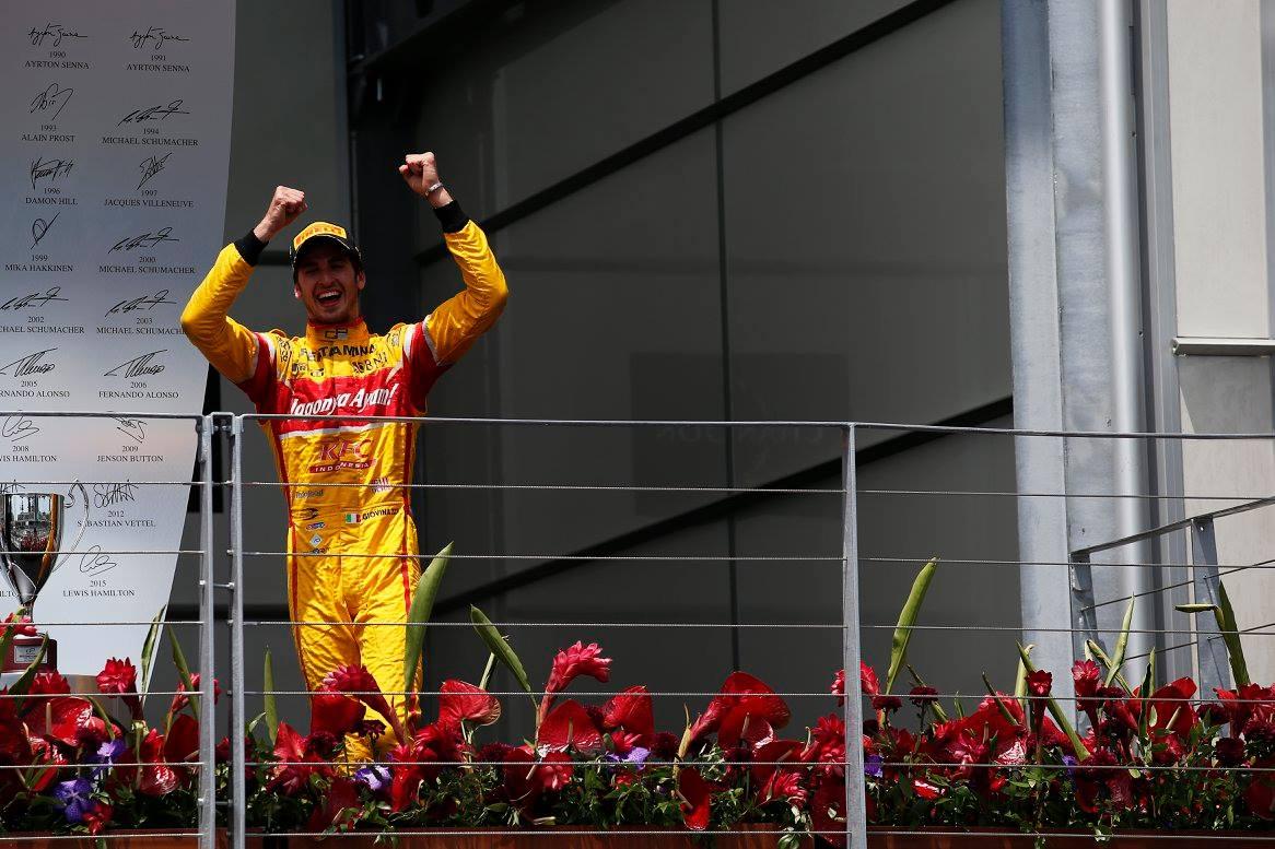 © GP2 Series - Première pole et première victoire en GP2 pour le jeune Antonio Giovinazzi !