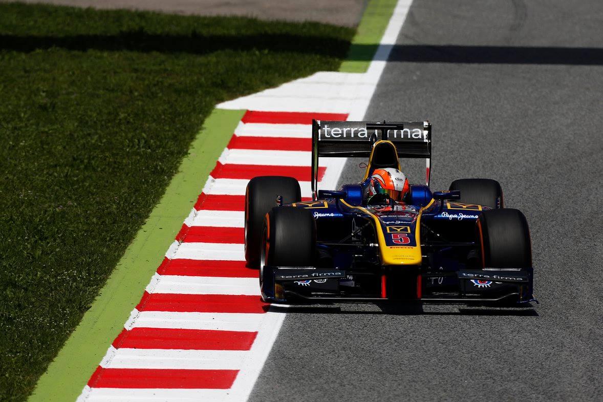 © GP2 Series - Alex Lynn a remporté la course 2 du meeting catalan des GP2 Series