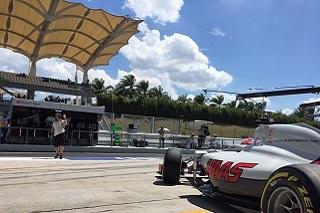 © Haas- Encore une dure journée pour Romain Grosjean