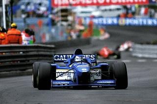 © Ligier - Olivier Panis gagne le GP de Monaco 1996