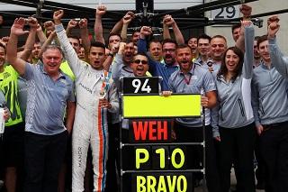 © Manor - Le N°94 de Wehrlein entre dans l'Histoire de la F1
