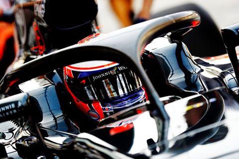 Si Jenson Button revient sur la grille en 2018, il devra cohabiter avec le Halo !