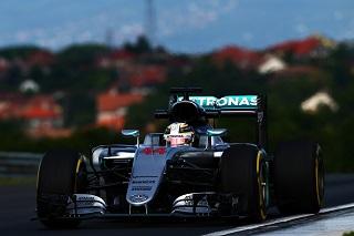 © Mercedes - Hamilton à dominé son sujet ce matin !