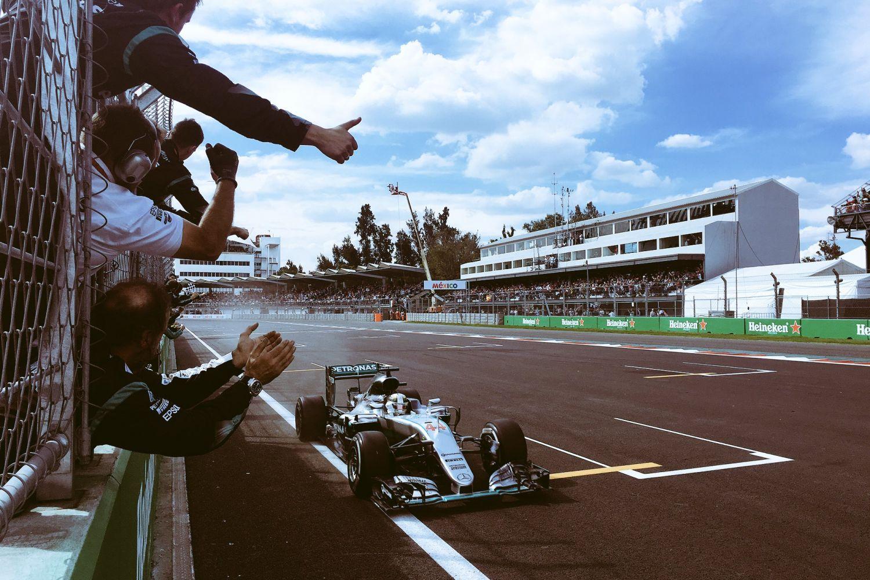 Une de plus pour le Britannique qui le rapproche de Rosberg