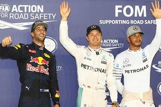 © Mercedes - Votre pilote de l'année sera t-il l'un des trois premiers du classement final ?
