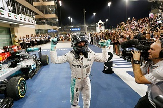 © Mercedes - Nico Rosberg est désormais champion du monde de Formule 1 !